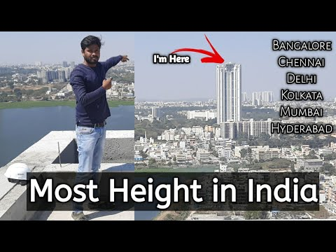 Most Height Building in Bangalore | Most Height Building in India | Hose of Hiranandani QG, Evita, T