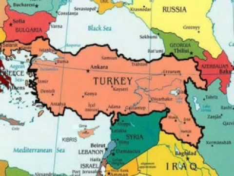 Turkey Mapmpg YouTube - Turkey map