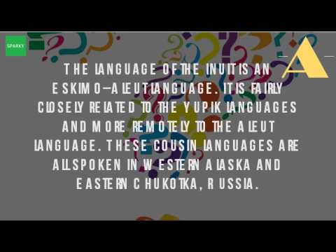 What Language Do The Eskimo Speak?