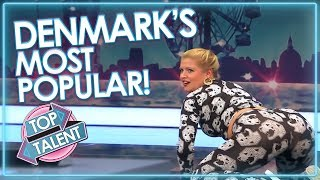 DENMARK'S MOST POPULAR AUDITIONS On Got Talent! | Top Talent