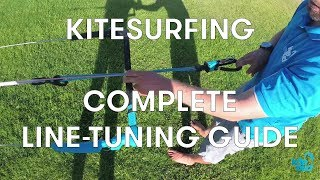 Learn how to tune your lines with KiteBud - Kitesurfing Lessons Perth