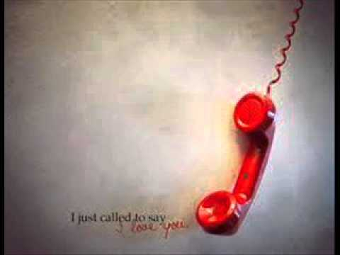 i just called to say i love you song