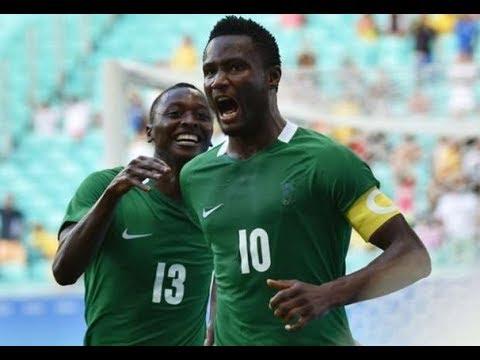 Nigeria vs Cameroon Russia 2017