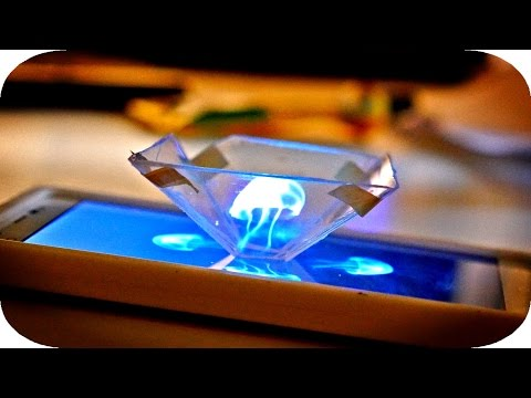 How To Make A 3D Hologram With Stuff You Already Own