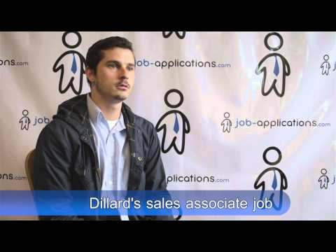Dillard's Jobs - Application & Interview
