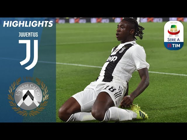 Juventus 4-1 Udinese   Ronaldo rested as Kean double puts Juve 19 points clear   Serie A
