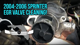 T1N Sprinter (2004-2006) EGR Valve Replacement/Cleaning