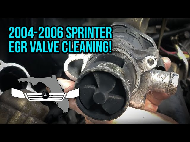EGR Valve Replacement/Cleaning - T1N Sprinter (2004-2006)