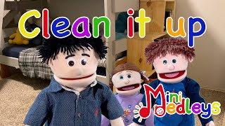 Song for kids - Clean it up