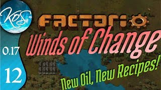 Factorio 0.17 Ep 12: FLUID CONCERNS - Winds of Change - Tutorial Let's Play, Gameplay