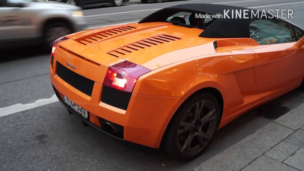 lamborghini gallardo lp 520 rev and acceleration - youtube