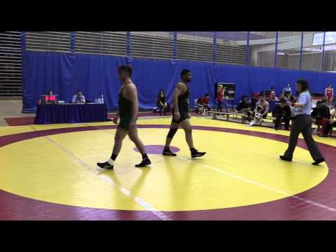 2015 Canada West Championships: 100 kg Jacob Luczak vs. Chanmit Phulka