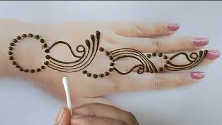 Download Easy Simple Mehndi Designs Back Hand New Cotton