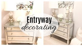 ENTRYWAY TABLE SHOP + DECORATE WITH ME