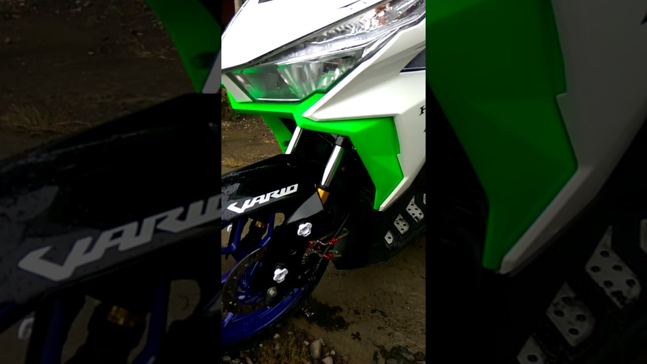 Modif Minimalis Vario 150 YouTube