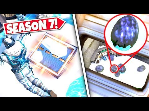 *NEW* SECRET SNOW BUNKER *REVEALED* PREPARING PLAYERS FOR THE FINAL EVENT! SEASON 7 UPDATE!: BR