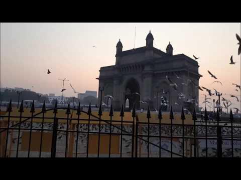 Mumbai   Gateway of India Early Morning Sunrise - It REALLY looks BEAUTIFUL!!!