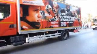 SDIS 59 Défilé du congrès départemental des sapeurs pompiers du Nord 2016