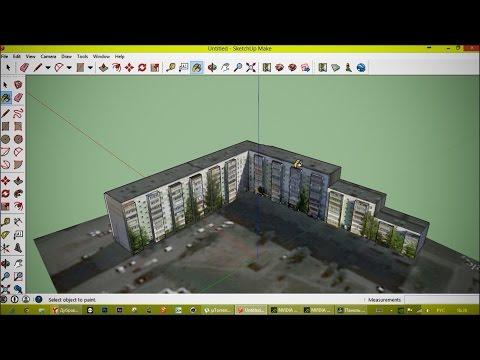Делаю 3D модель дома