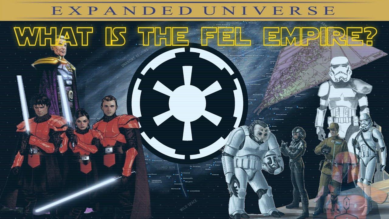 What Was The Fel Empire Manda Lore Youtube