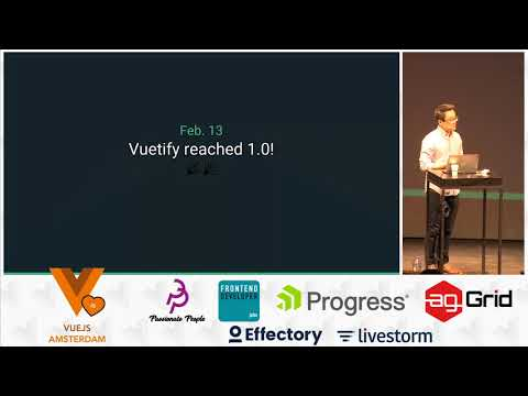 Evan You - State of VueJS 2018 | vuejs.amsterdam conference