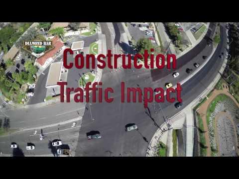 Construction Impact-DB Blvd. & Brea Canyon Road