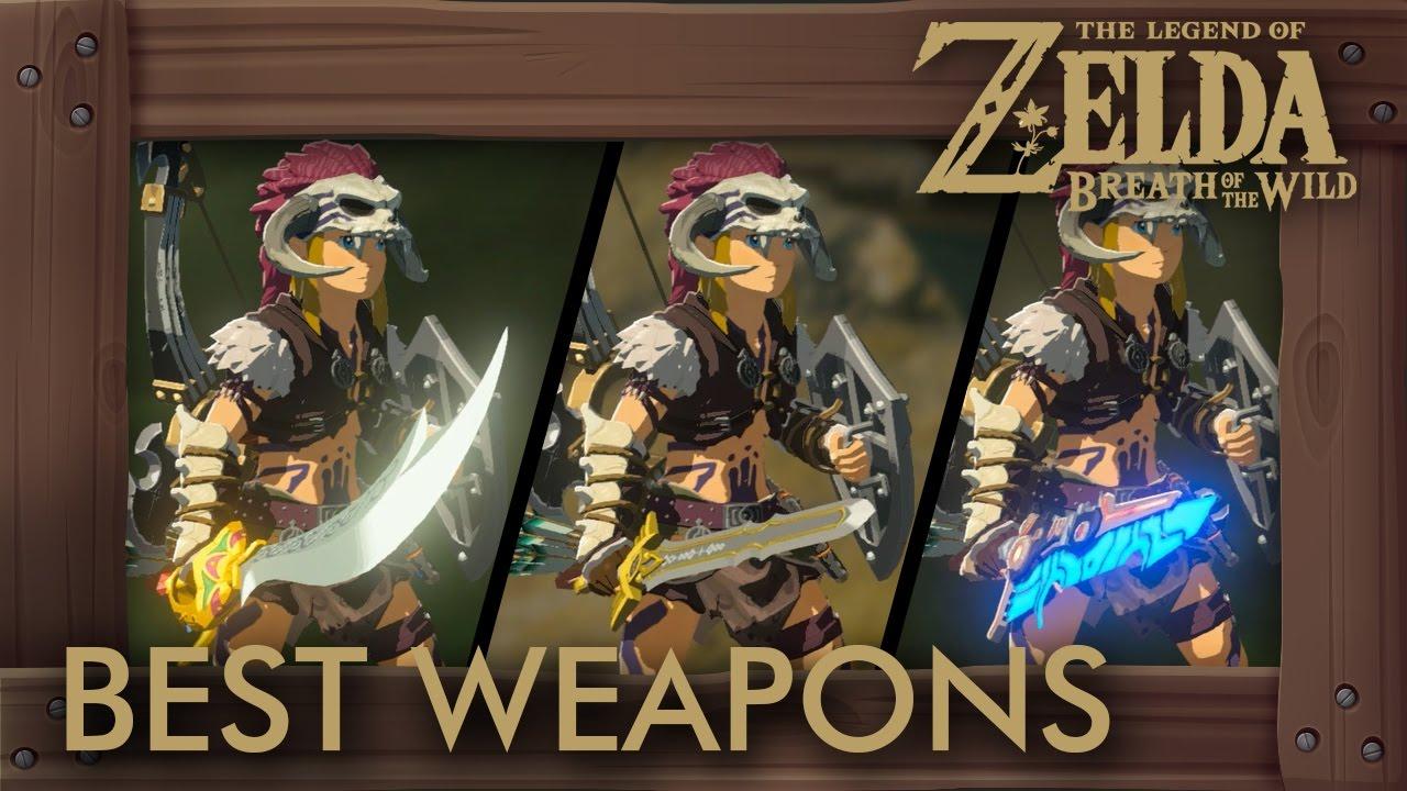 Zelda Breath of the Wild Best Weapons - The Best Swords and