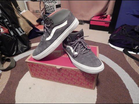 02f99d652a Vans Gilbert Crockett Pro Mid Shoe Review (Skated) - YouTube