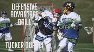 Defense Drill with Tucker Durkin | Project 9 Lacrosse