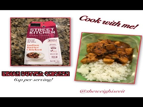 cook with me : street kitchen indian scratch kit - butter chicken