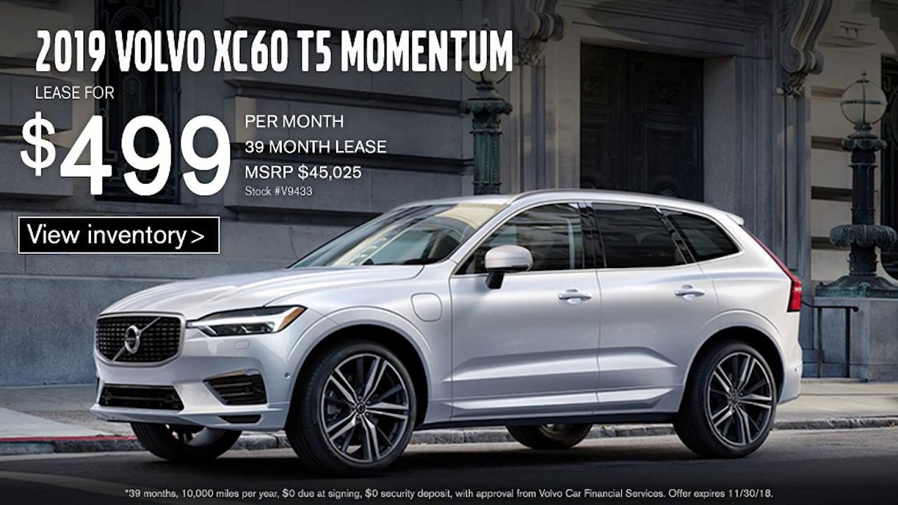 Bobby Rahal Volvo >> Bobby Rahal Volvo 2019 Xc60 T5 Momentum 499 Per Month