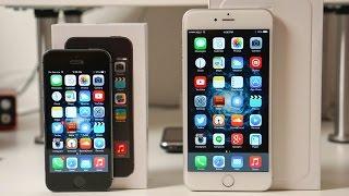 iPhone 6 Plus vs iPhone 5s Speed Test