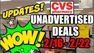 CVS UNADVERTISED DEALS & UPDATES 2/16 - 2/22 💃
