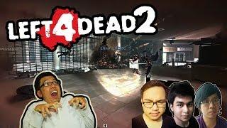 LEFT 4 DEAD 2 NGAKAK ABIS! (1) - Di Tomprok Witch, Di Kecup TANK KK! HAHA! (L4D2 Momen Konyol)
