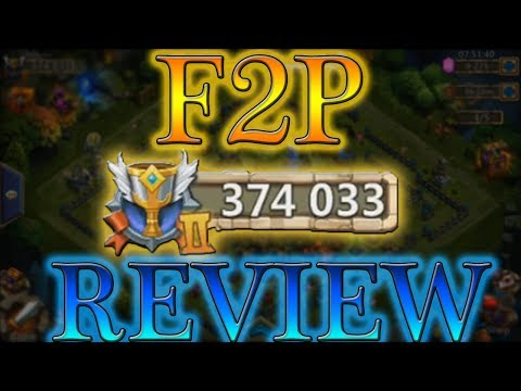 Castle Clash F2P Heroes Altar REVIEW 375k MIGHT
