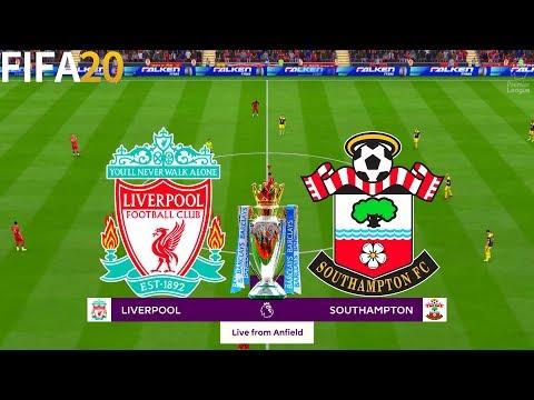 FIFA 20   Liverpool vs Southampton - 19/20 Premier League - Full Match & Gameplay