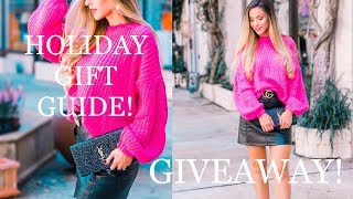 MY HOLIDAY GIFT GUIDE & GIVEAWAY!