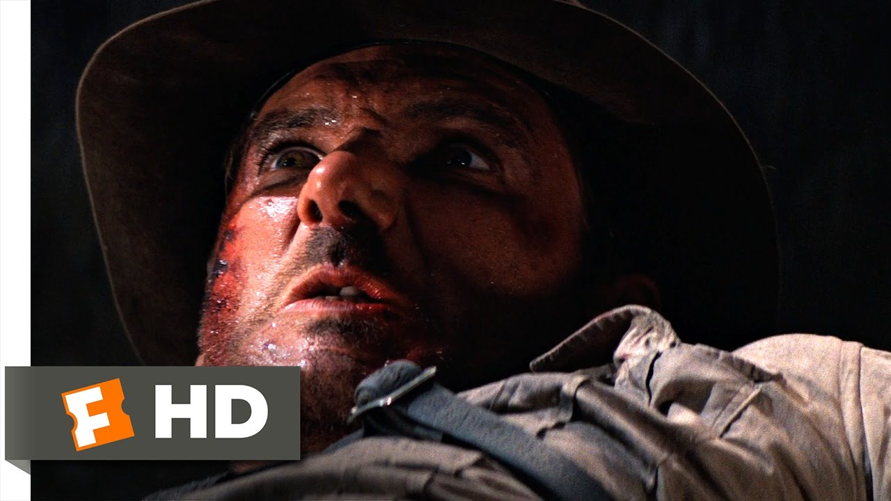 Indiana Jones and the Temple of Doom (6/10) Movie CLIP - Rock Crusher Fight  (1984) HD
