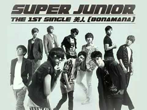 【MP3】SuperJunior   BONAMANA日文版  台首播 320x240