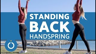 How to do a Back Handspring in Gymnastics