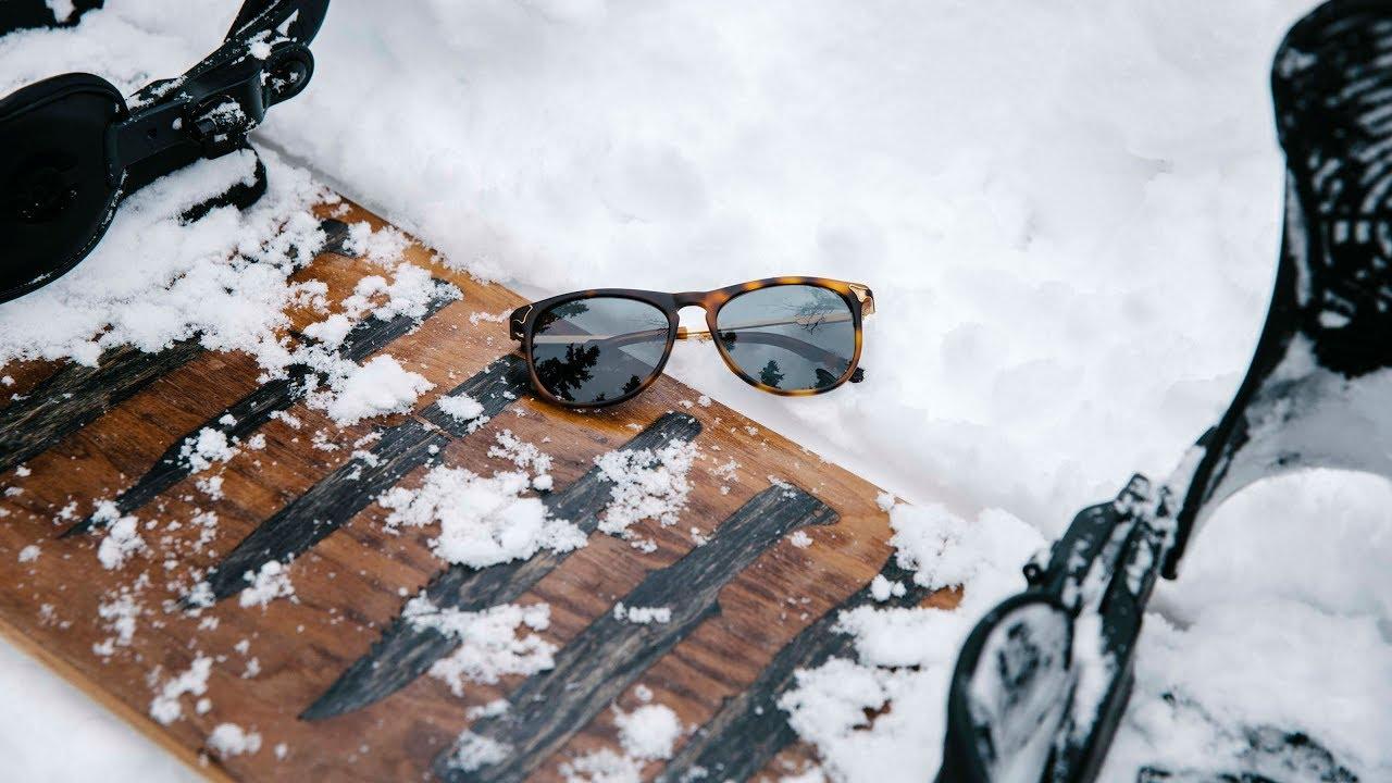 c102a8c4e4 Shwood Eyewear - DIY Snowboards - YouTube