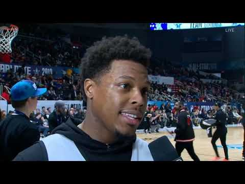 Kyle Lowry interview during All-Star Practice