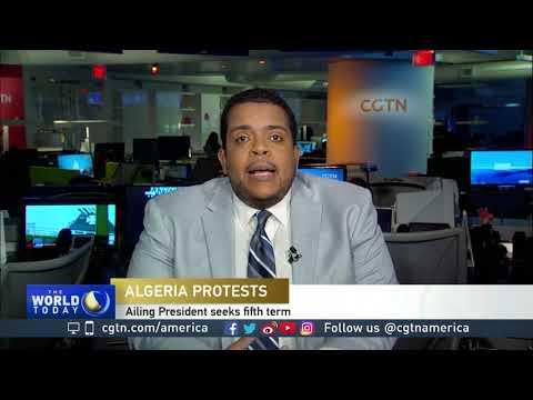 Calvin Dark discusses the rise in protests in Algeria