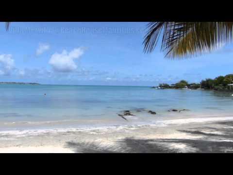 Beach at Villa Merville - http://beachhousemauritius.com/