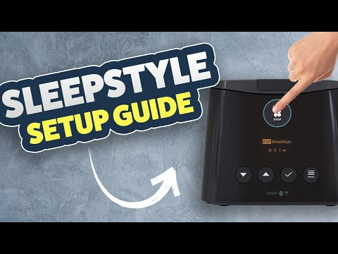 Fisher & Paykel SleepStyle Part 2 Or 3 - Basic Settings