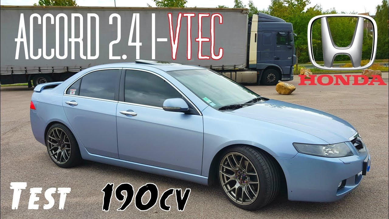 Test Best Er Aux Usa Honda Accord 2 4 I Vtec De 2004