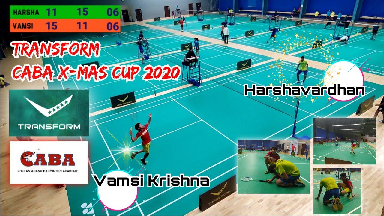 TRANSFORM CABA X-MAS CUP 2020 : Vamsi Krishna vs Harshavardhan