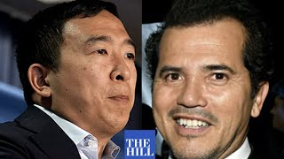 John Leguizamo endorses Andrew Yang for Mayor of New York City