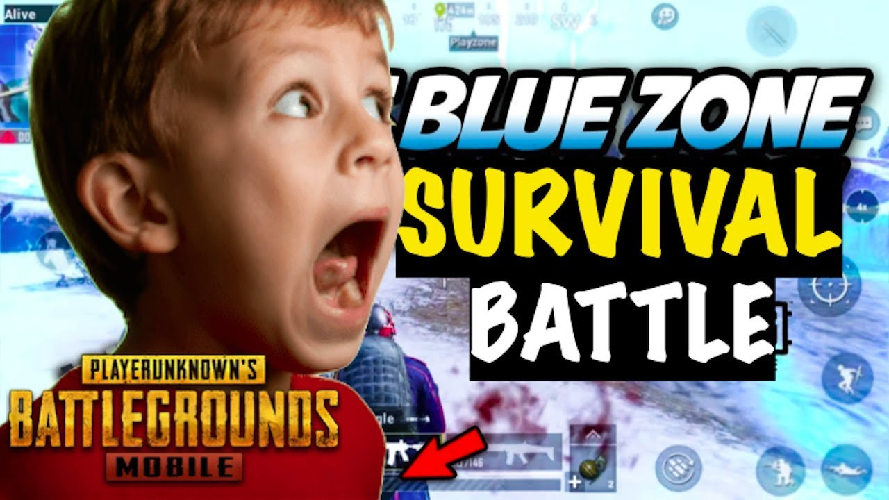 Blue Zone Survival Battle PUBG Mobile | Live Insaan