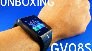 Unboxing GV08S - Ceas inteligent super ieftin 80lei din China